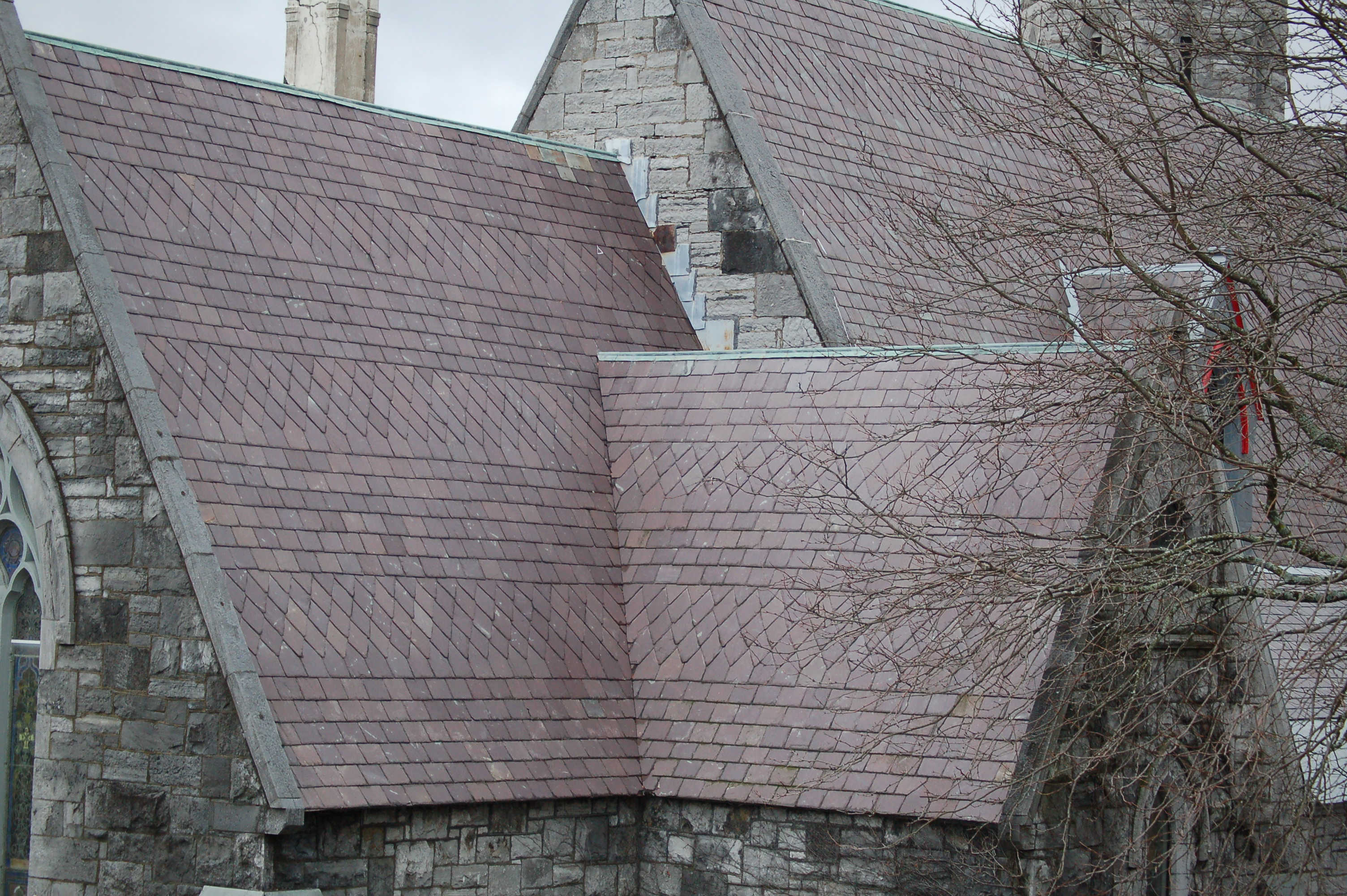Vermont-Slate-On-Church